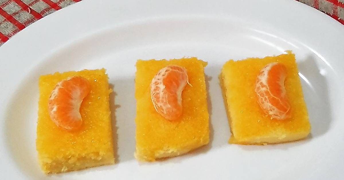 Resep Cake Kukus Sederhana: 71 Resep Cake Jeruk Kukus Enak Dan Sederhana