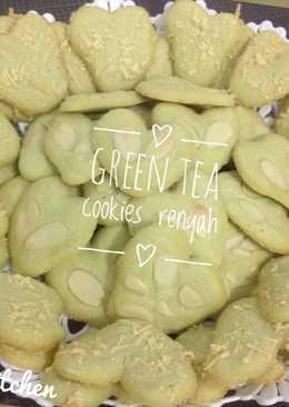 Green tea Butter Cookies- Crispy