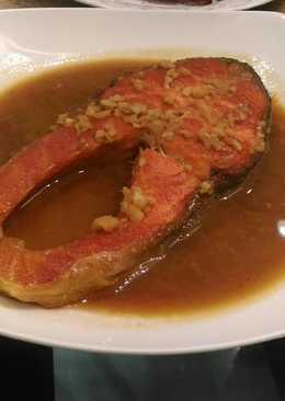 Salmon saus teriyaki