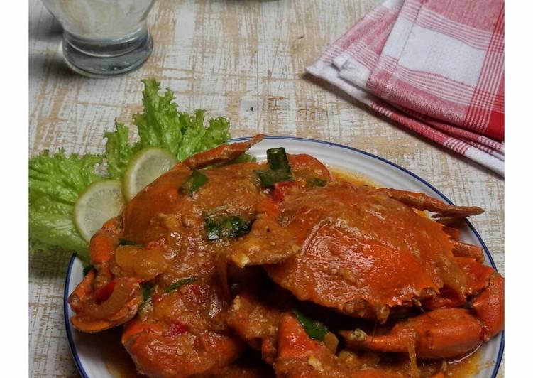 Kepiting saus PADANG foto resep utama