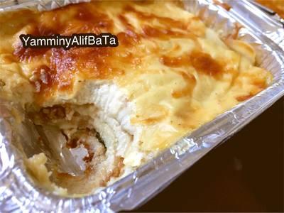 Beef Lasagna dgn Saus & Kulit Homemade #Pr_Pasta