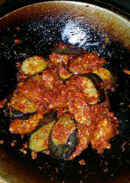 Terong dan tempe sambalado