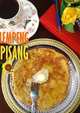 LEMPENG PISANG l Banana Pancake