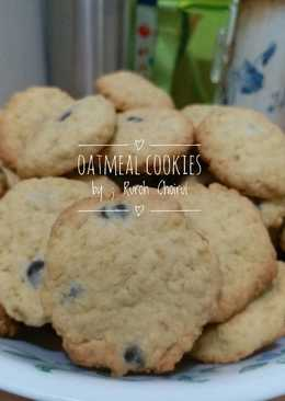 Oatmeal cookies chochochips