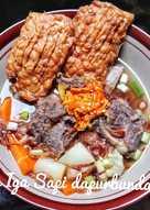 Sop Iga Sapi (masakan rumah sederhana)