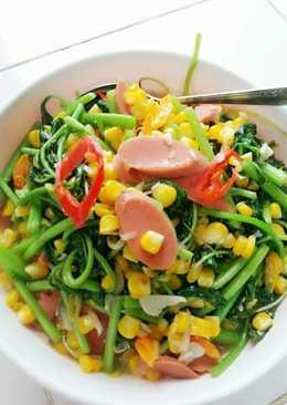 Hasil gambar untuk Tumis Sayuran sosis