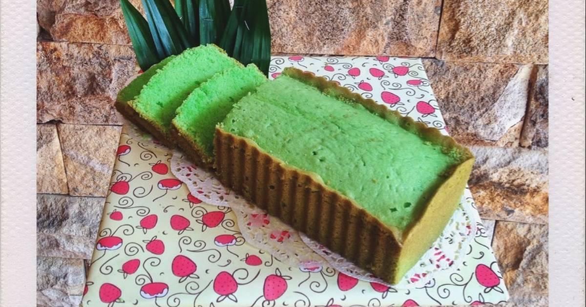 Resep Condensed Milk Pandan Pound Cake