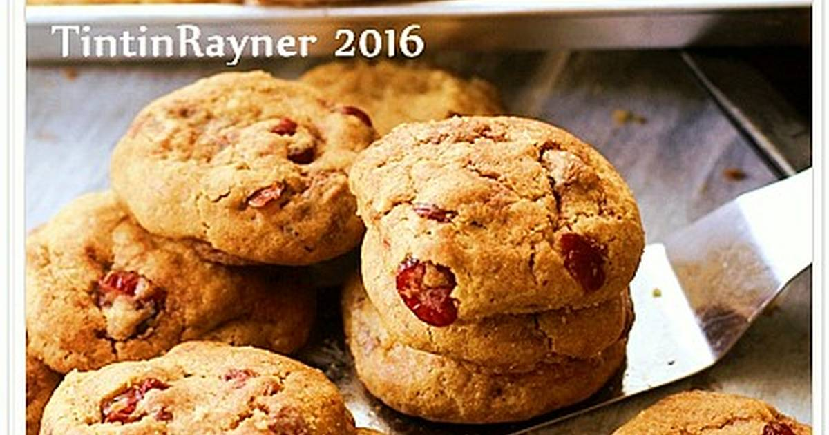 Resep Chocochips Cranberry CHEWY Cookies (Thick+Soft) cepat dan mudah