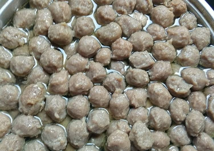 Bakso Sapi-Ayam Kenyal Sehat