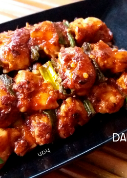 Dakkochi (Sate Ayam a la Korea), halal version !