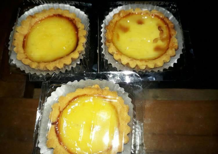 Resep Egg tart Kiriman dari Lina Arawati