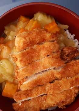 Chiken katsu curry