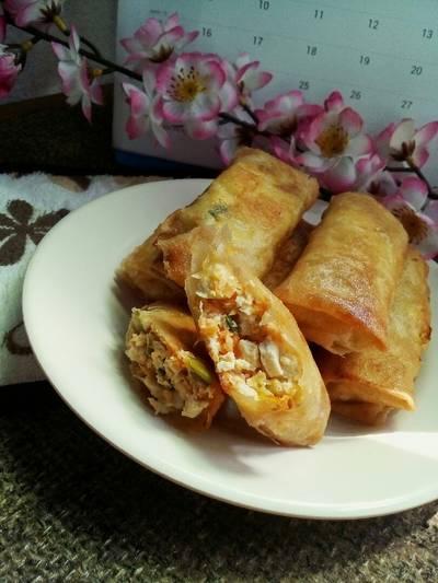 Lumpia Tahu Udang Wortel #SeafoodFestival