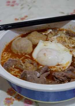 8. Mie Ala Korea Gyu Udon #BikinRamadanBerkesan