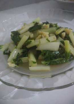 Pokcoy cah bawang putih
