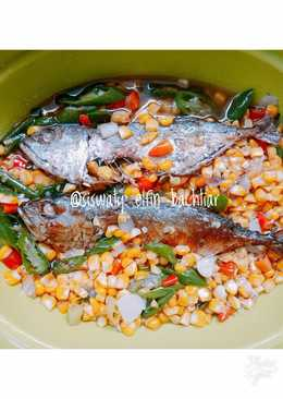 Oseng ikan peda jagung manis