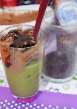 20. Avocado Chocolate ice cream #BikinRamadanBerkesan