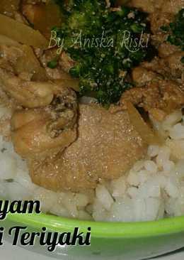 Ayam Teriyaki ala ala