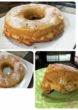 Bread cinnamon cake