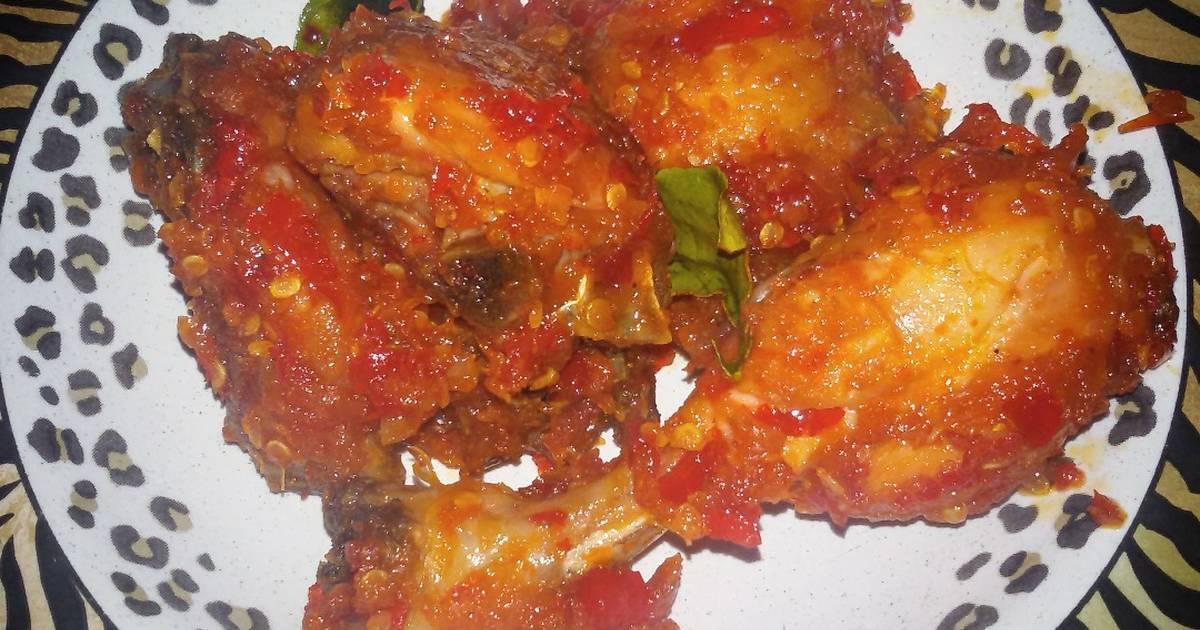 Resep Ayam Goreng Sambal Terasi oleh Reski Ramadhani - Cookpad