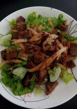 Beef Salad (Diet Mayo)