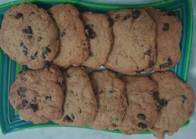 Cookies coklat chip