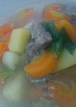 Sop daging sapi segar