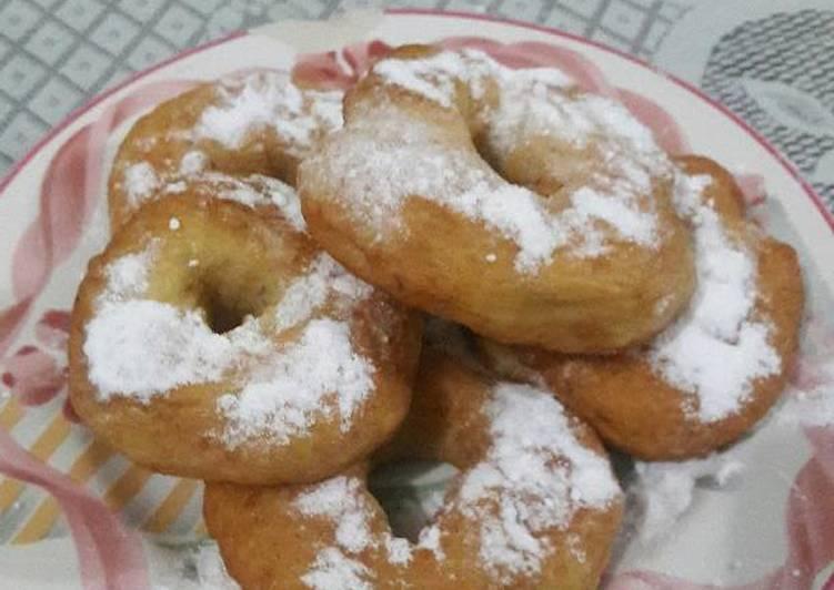Resep Cake Tanpa Telur Jtt: Resep Donat Pisang Empuk Tanpa Telur Oleh Andika Shelly S
