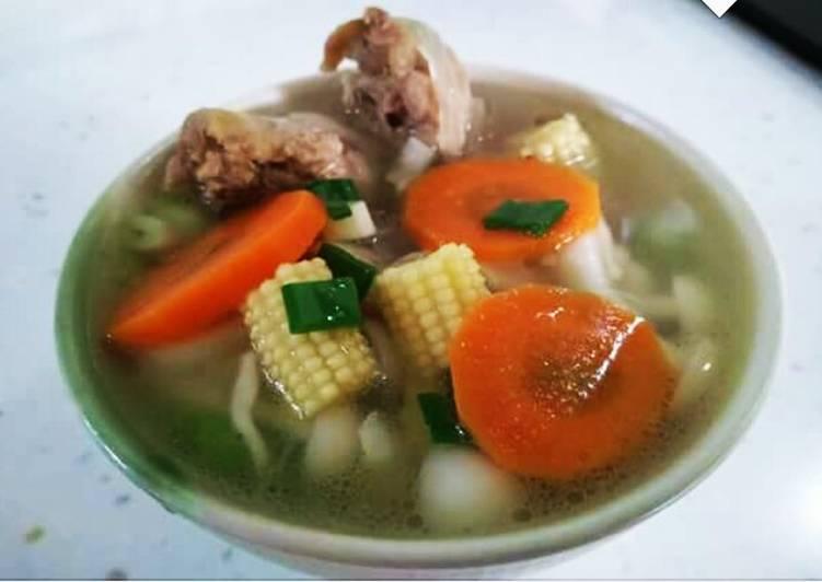 Resep Sop Ayam & sayuran Karya Dapoer'e mbak Iis