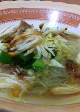 Soto Ayam(Madura)