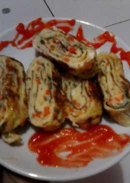 Tamagoyaki (Telur Dadar Jepang)