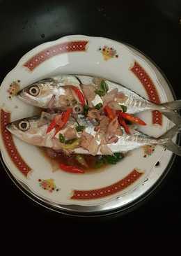 Ikan kembung kukus