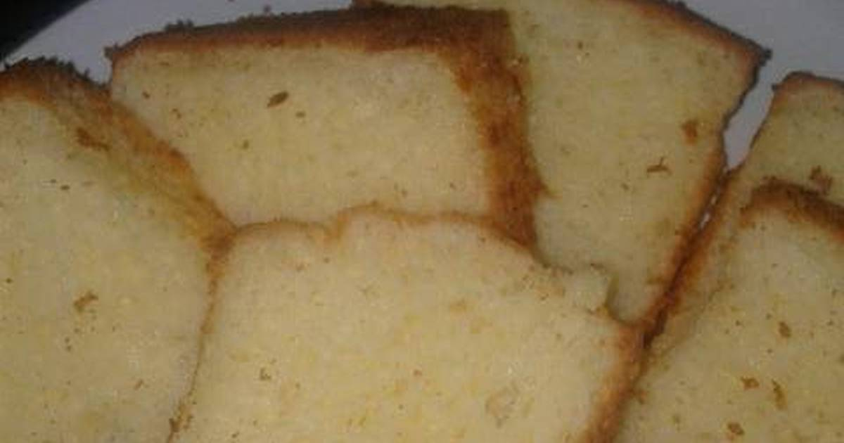Resep Simple Cheese chiffon cake