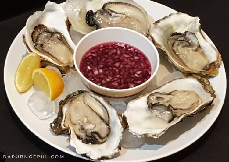 9. Fresh Oyster with Mignonette Sauce #BikinRamadhanBerkesan