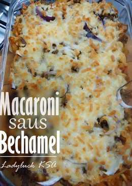 35. Macaroni Saus Bechamel