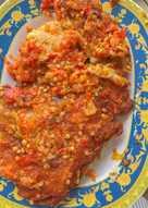 Ayam geprek sambel petir