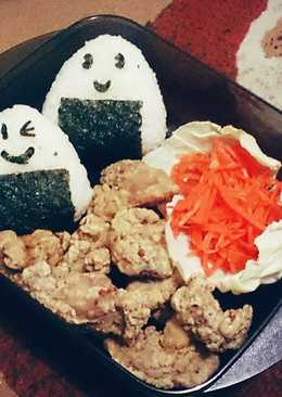Nasi Kepal & Ayam Goreng (Onigiri & Chicken Karaage)