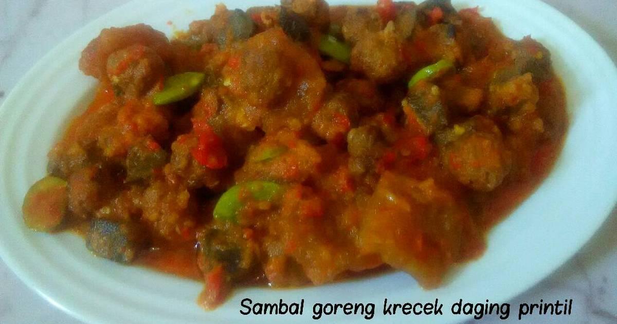 21 resep sambal goreng printil enak dan sederhana - Cookpad