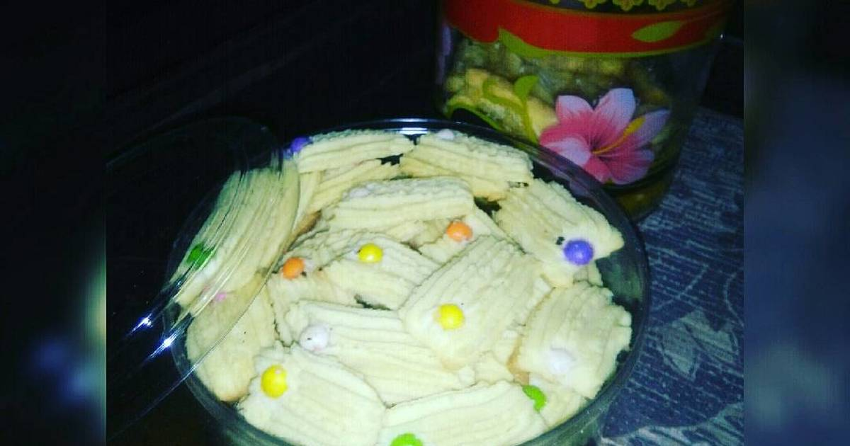 Resep Cookies ceria, simple but tasty😋😋