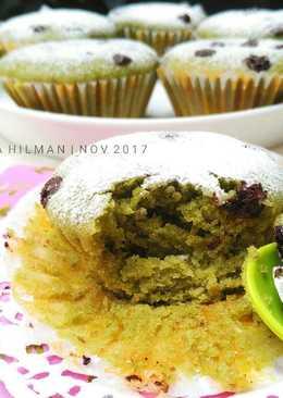 Muffin Pandan Kacang Hijau