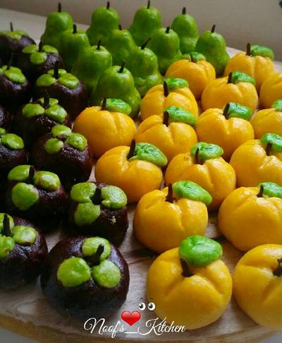 Nastar buah simple tapi cantik