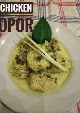 Chicken Opor - Opor Ayam