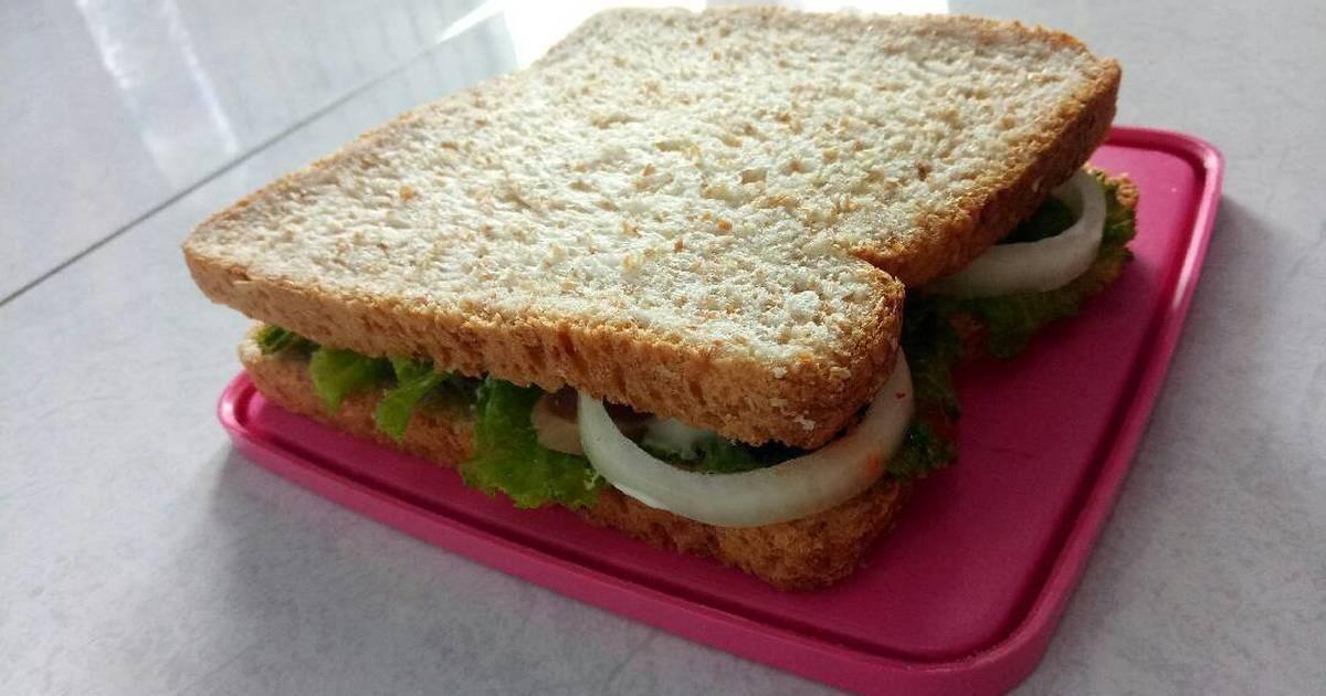 Curry-Käse-Sandwich (Diät)