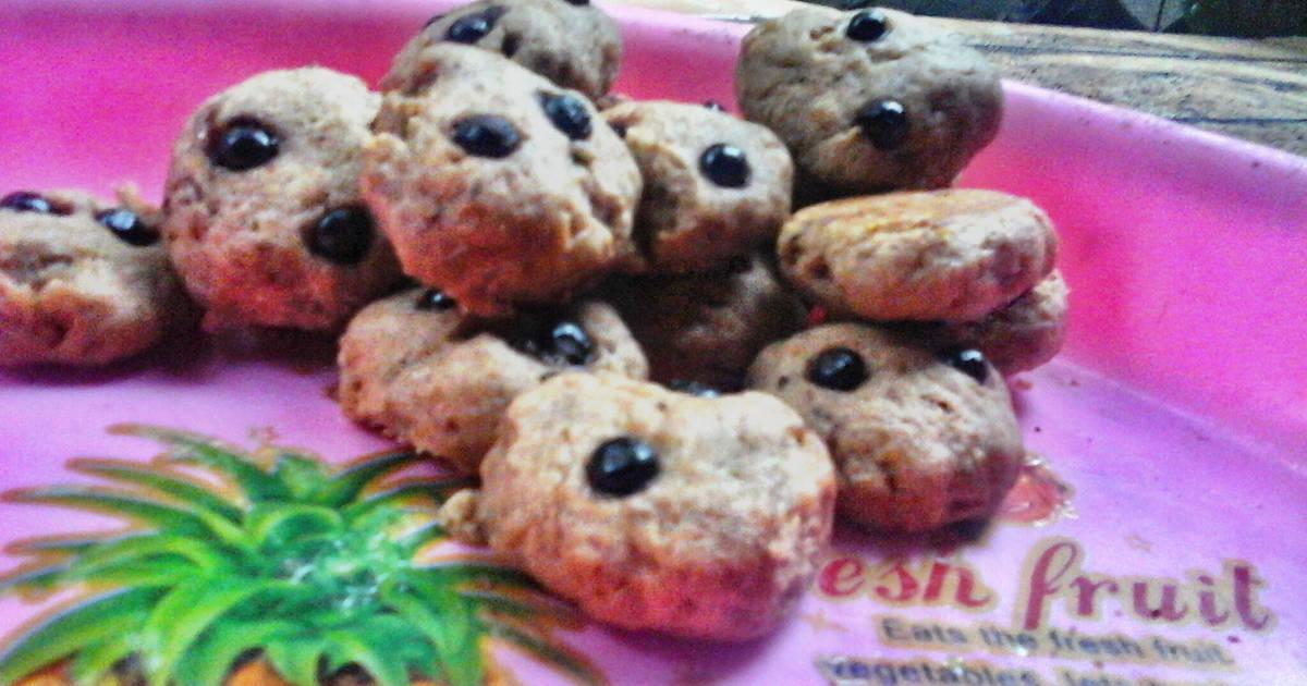 Resep Chocochip cookies versi Eggless