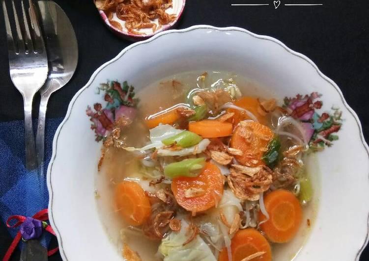 gambar untuk resep makanan Sop Campur Taoge