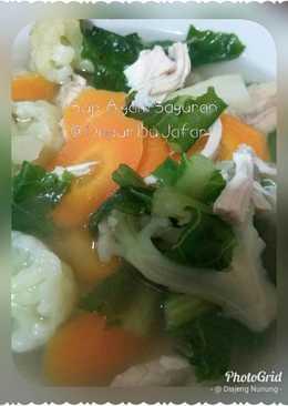 Sup Ayam Sayur