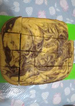 Banana marble cake (happycall)