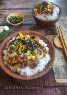 Beef and Egg Donburi