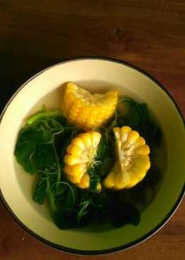 Sayur bayam jagung manis ❤️