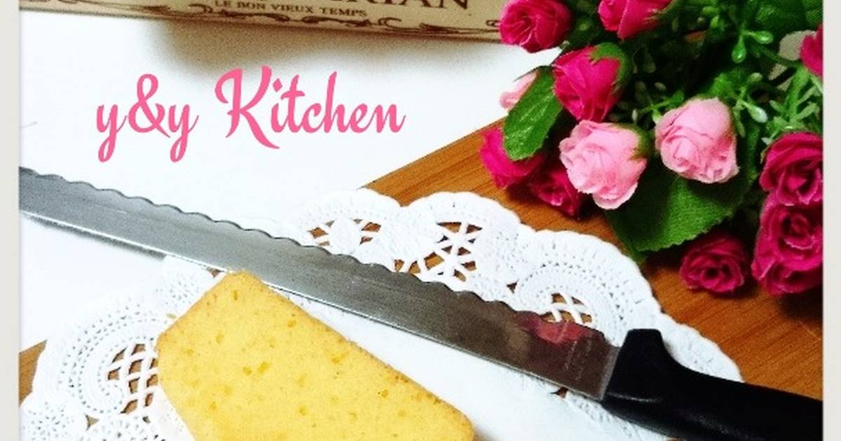 Resep Cream cheese butter cake